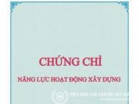 Hình ảnh : DV Xin Cấp Chứng Chỉ Năng Lực Hoạt Động Xây Dựng Uy Tín 100%